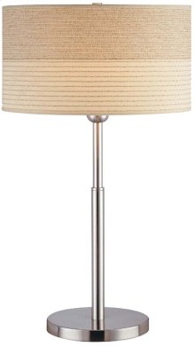 Table Lamp, Ps W/2-tone Textured Shade, Type A 150w