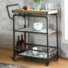 Keervan Wine Cabinet W/ Foldable Table Product Image