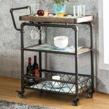 Keervan Wine Cabinet W/ Foldable Table
