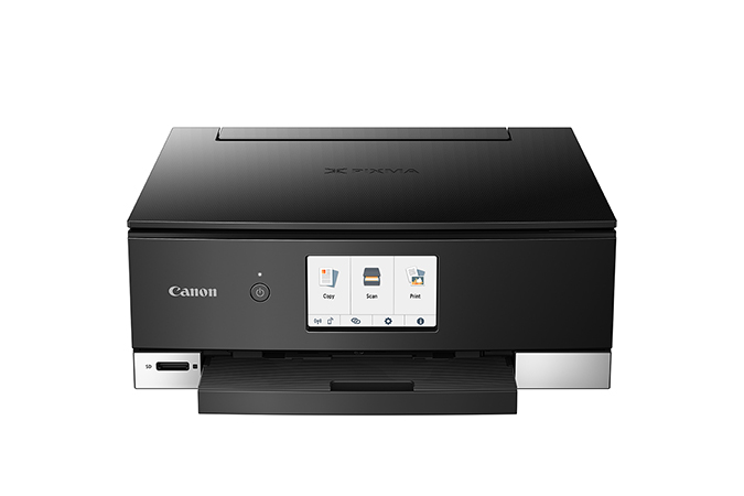 Canon PIXMA TS8220 Black Wireless Wireless Inkjet All-In-One Printer