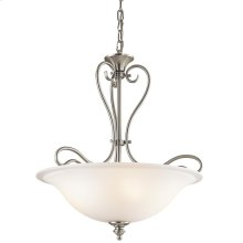 Tanglewood Collection Tanglewood 3 Light Halogen Inverted Pendant NI