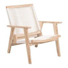 West Port Arm Chair White Wash&white