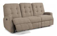 Devon Leather Reclining Sofa without Nailhead Trim