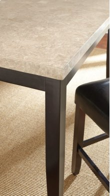 """Monarch Marble Top Counter Table, 54"""" x 54"""" x36"""""""