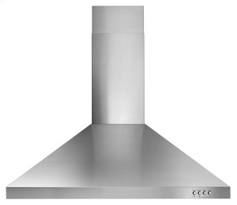 "Whirlpool(R) 30"" Contemporary Stainless Steel Wall Mount Range Hood"
