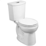 American StandardWhite H2Option Dual Flush Round Front 0.92/1.28 gpf Toilet - Lined Tank