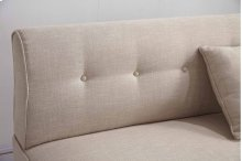 8336 Beige Armless Loveseat