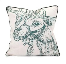 Homestead Christmas Vintage Reindeer Pillow