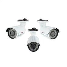 Bullet Camera Uni-mount Varifocal AHD 720P - White