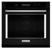 """27"""" Single Wall Oven with Even-Heat True Convection - Black Product Image"""