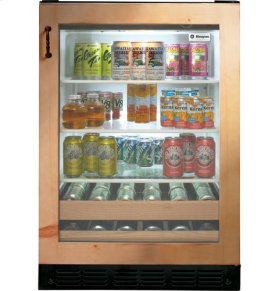 "24"" Custom Panel Beverage Center"