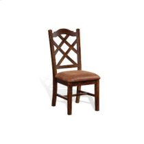 Santa Fe Double Crossback Chair w/ Cushion Seat Product Image
