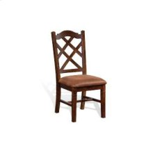 Santa Fe Double Crossback Chair w/ Cushion Seat
