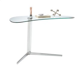 Campaign Writing Desk - Stainless Steel