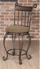 "D225-22  24"" Swivel Counter Stool Product Image"