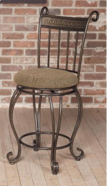 "D225-22  24"" Swivel Counter Stool"