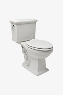 Otis Two Piece High Efficiency Elongated Watercloset with Molded Wood Seat STYLE: OTWC01