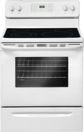 5.4 cu. ft. Oven Capacity Electric Range