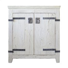 "30"" Americana Vanity in Whitewash"