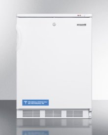 Built-in Undercounter Medical All-freezer Capable of -25 C Operation, With Front Lock