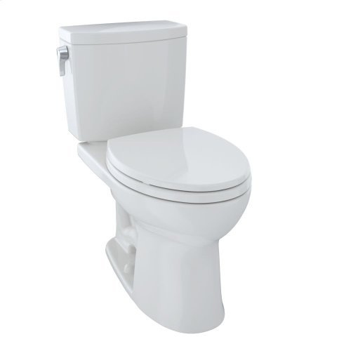 Drake® II 1G Two-Piece Toilet, Elongated Bowl, 1.0 GPF - Colonial White