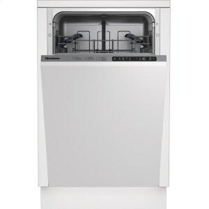 "Blomberg18"" Slim Tub, Top Control Dishwasher"