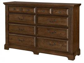 Triple Dresser - 8 Drawers
