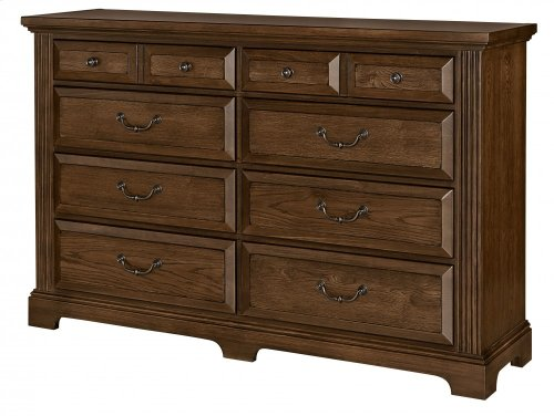 Triple Dresser - 8 Drawers