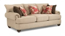 Patterson Fabric Sofa with Nailhead Trim