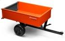 12' Welded Steel Dump cart Product Image