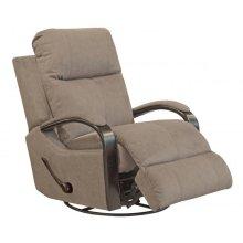 Niles 4703 Swivel Glider Recliner - Fabric 2792-26 Portabella