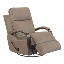 Niles 4703 Swivel Glider Recliner - Fabric 2792-26 Portabella