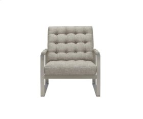 MAXWELL Pewter Metal Chair