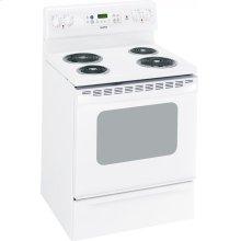 "MCB757DMWW - White Moffat Moffat 30"" Free Standing Electric Self Clean Range"