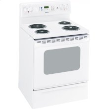 "MCB757DMWW - White Moffat Moffat 30"" Free Standing Electric Self Clean Range"