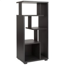 Morristown Collection Bookshelf in Espresso Wood Finish