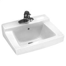 Declyn Wall Mounted Sink - White