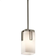 Leeds Collection Leeds 1 Light Mini Pendant - Antique Pewter