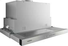 Flat kitchen hood 200 series AF 210 761 Stainless steel handle bar Width 23 9/16'' (60 cm) Air extraction / Air recirculation