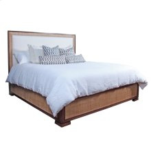 Sand Saguran with Stone Fabric Purveyor Platform California King Bed