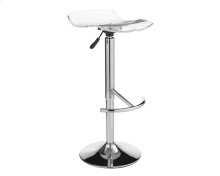 California Adjustable Barstool - Clear