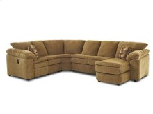 Living Room Legacy Fabric Sectional 2700-FAB-SECT
