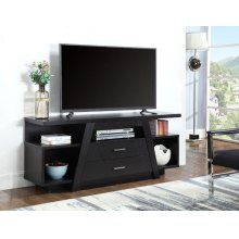 Contemporary Cappuccino TV Stand