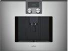 Fully Automatic Espresso Machine 200 Series Full Glass Door In Gaggenau Metallic Product Image