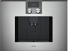 200 Series Fully Automatic Espresso Machine Glass Front In Gaggenau Metallic Product Image