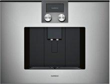 200 Series Fully Automatic Espresso Machine Glass Front In Gaggenau Metallic
