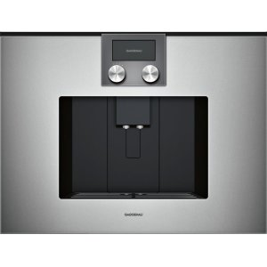 Gaggenau200 series 200 series fully automatic espresso machine Glass front in Gaggenau Metallic