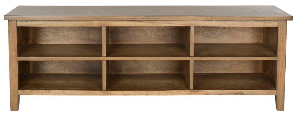 Sadie Low Bookshelf - Oak