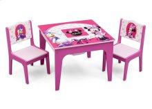 Minnie Mouse Deluxe Table & Chair Set with Storage - Style 1