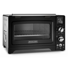"12"" Convection Digital Countertop Oven - Onyx Black"